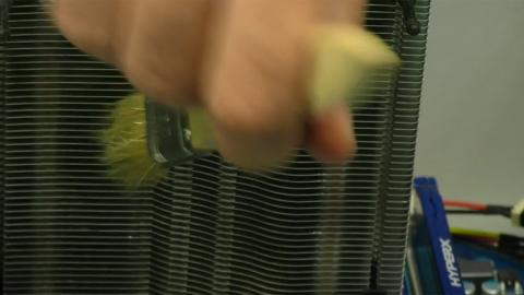 Limpiar disipador CPU