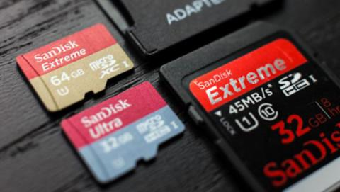 SanDisk presenta una tarjeta SD de 1 terabyte