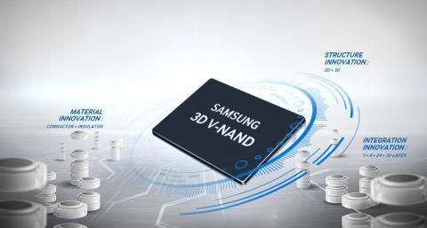 Tecnología 3D V-NAND de Samsung