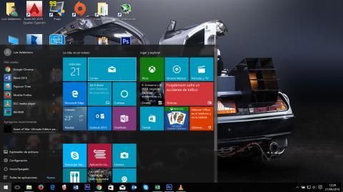 Tile de la aplicación de correo de Windows 10