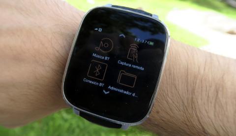 Diseño y pantalla del Zeblaze Crystal