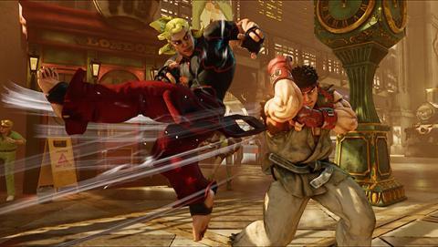 Actualización Street Fighter V