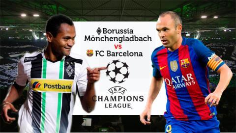 Cómo ver online en directo el Borussia Monchengladbach vs Barcelona de Champions
