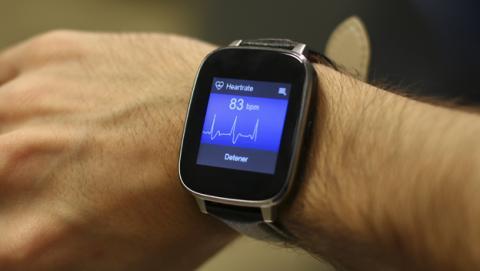 Sensor de frecuencia cardiaca del Zeblaze Crystal
