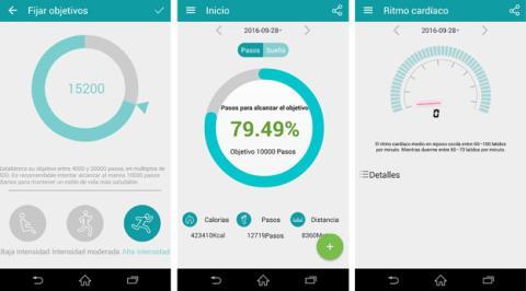 Capturas de pantalla de Fundo Wear, la app de Zeblaze