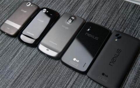 Google Nexus Moviles