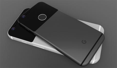 Posible aspecto final del Google Pixel XL