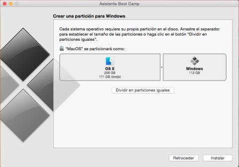 partición de Windows