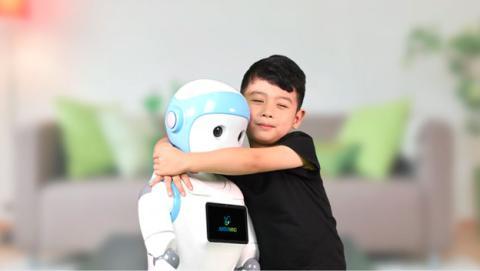 robot niñera
