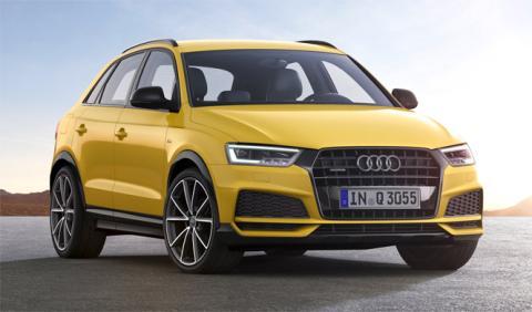 Audi Q3 2017: con nuevos detalles exteriores
