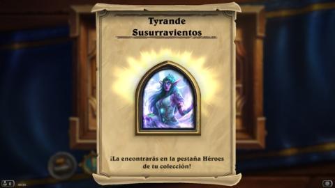 Cómo conseguir gratis el héroe de Hearthstone, Tyrande Susurravientos