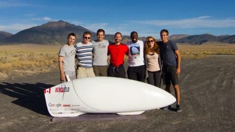 Aerovelo Eta marca un nuevo récord mundial de velocidad