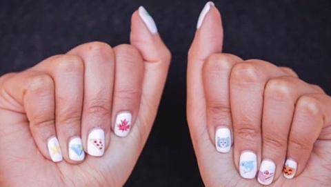 imprimir uñas