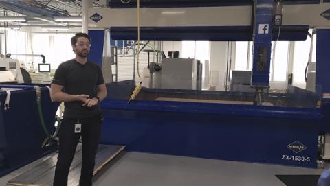 Facebook abre las puertas de su laboratorio en Menlo Park