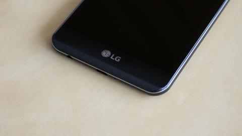 Borde inferior LG X power