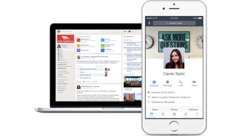 Facebook presenta Workplace, su plataforma para empresas