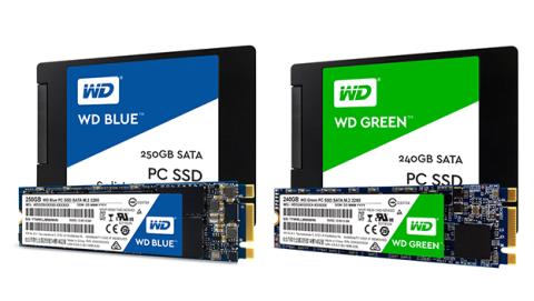 WD presentan sus nuevos SSD WD Blue y WD Green