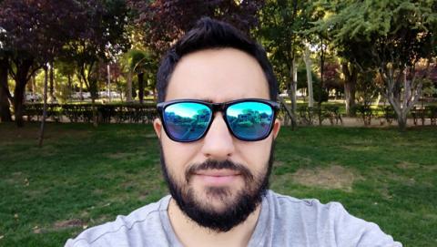 Selfie LG X Cam