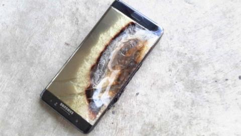 Galaxy Note 7 explosión