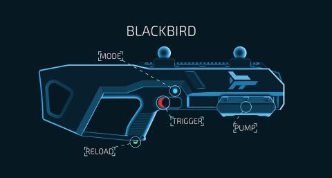 imagen del arma utilizada en Zero Latency