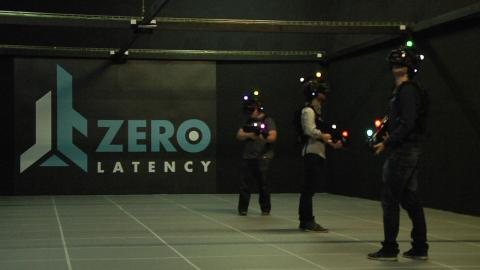 Imagen de la sala VR de Zero Latency