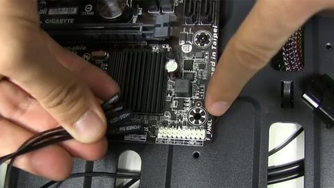 Conectores del panel frontal