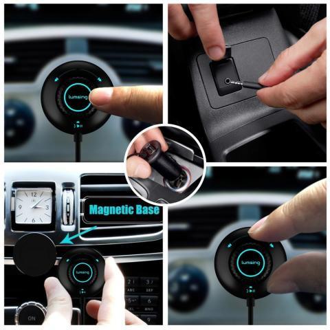 sistema manos libres inalámbrico por Bluetooth de Lumsing
