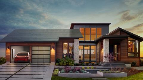 Techo solar de Tesla