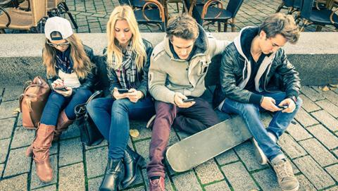 tráfico internet de teléfonos móviles