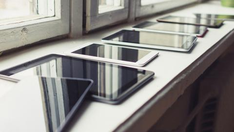 La venta de tablets se reduce desde hace dos años