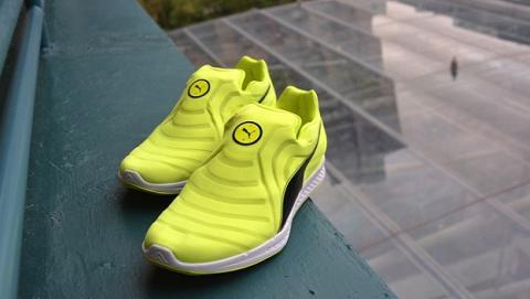 Puma presenta sus zapatillas de auto-lazado para deportistas