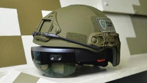 El ejército de Ucrania usará cascos con Microsoft HoloLens