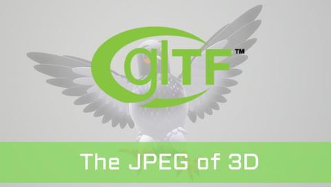 nuevo formato de imágenes 3D glTF
