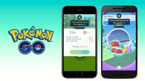Bonificaciones Pokémon GO
