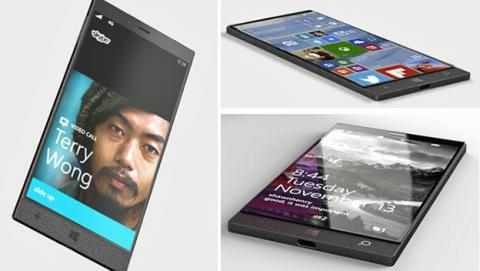 Imagen conceptual teléfono Microsoft