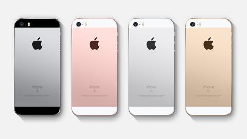 Actualización iPhone SE