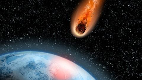 El impacto de un meteorito en la Tierra todavía es inevitable
