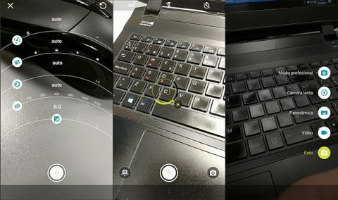 imagen de la aplicación de cámara