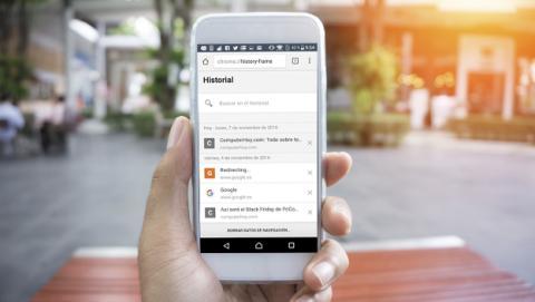 Borrar el historial en Android