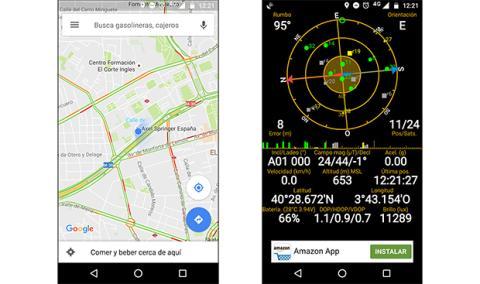 GPS en el Moto Z