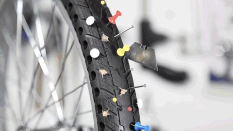 Ruedas sin aire para tu bicicleta que te ahorrarán problemas