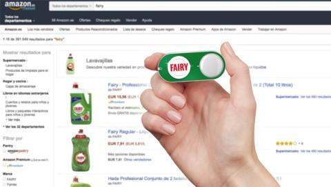 Botón Amazon Dash Button de Fairy