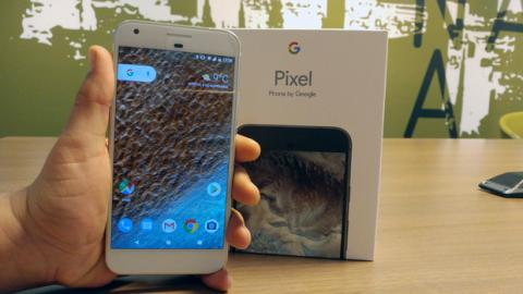 Unboxing Pixel XL