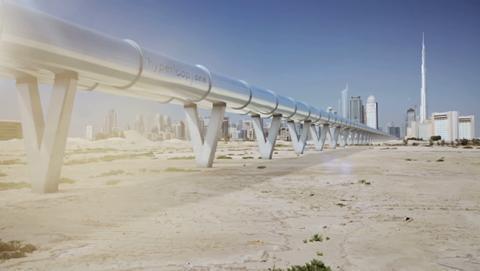 Hyperloop se estrenará en Dubai en el año 2020