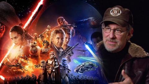 Spielberg cambió escenas de Star Wars El Despertar de la Fuerza