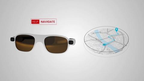 Nuevas gafas inteligentes para invidentes