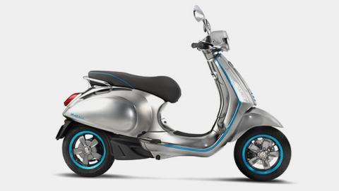 La mítica moto Vespa regresa en versión eléctrica