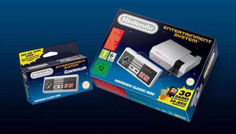 Los accesorios que trae la caja de la Nintendo Classic Mini