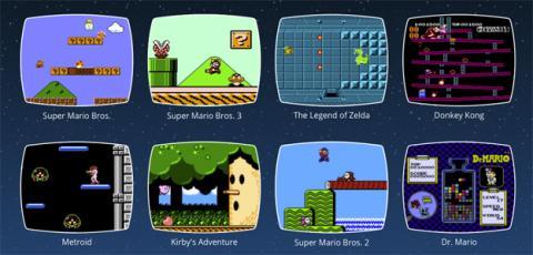 Los juegos que trae la consola Nintendo Classic Mini