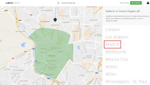 UberEATS Madrid